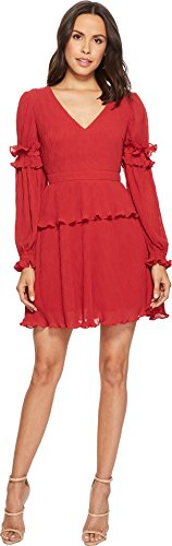 - Keepsake The Label Women's Skylines Mini Dress Scarlet Red Large