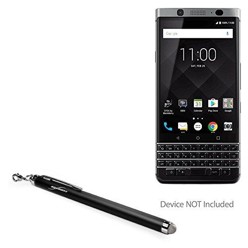 - BoxWave BlackBerry Keyone Stylus Pen, [EverTouch Capacitive Stylus] Fiber Tip Capacitive Stylus Pen for BlackBerry Keyone - Jet Black