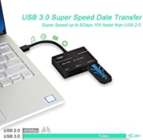 YEHUA Lector de XQD/SD Adaptador USB C a XQD/SD Conector de tarjeta de memoria flash USB 3.0 Alta Velocidad 5Gbp/s compatibile con Grabación Serie ...