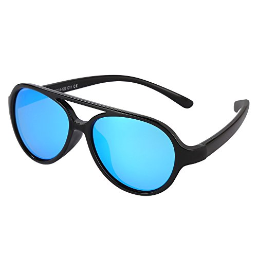 Kids Sunglasses Rubber Flexible Polarized Aviator Sunglasse For Children Age - Sunglasses What Is Aviator