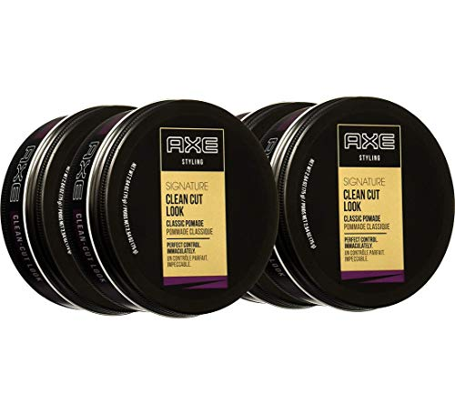 AXE Clean Cut Look Hair Pomade, Classic 2.64 Ounce (Pack of 4)