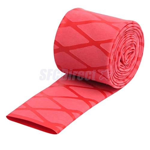 Heat Shrink Tubing Textured Tube Fishing Rod Handle Tape Racket Non Slip Grip Sleeve 39
