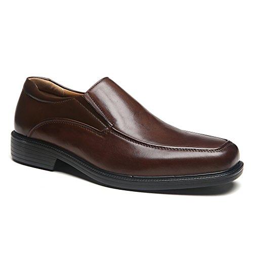 La Milano Ampia Larghezza Mens Oxford Scarpe Uomo Scarpe Da Sera Wide-3a-brown