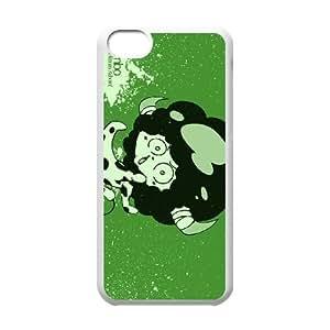 Katekyo Hitman Reborn 07 de funda caja del teléfono celular 5c mejor cubierta del funda iPhone blanco