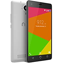 """NUU Mobile N4L 5.0"""" HD Dual LTE SIM Android Lollipop Smartphone with 2YR Warranty, White"""