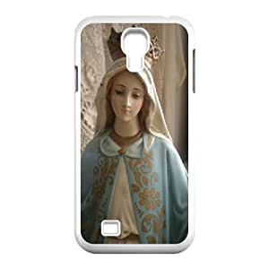 Samsung Galaxy S4 Case Blessed Virgin Mary, Samsung Galaxy S4 Case - [White] Haygen