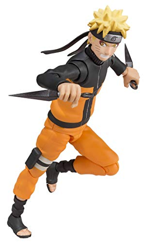Bandai Tamashii Nations S.H. Figuarts Sage Mode Naruto Shippuden Action Figure ()