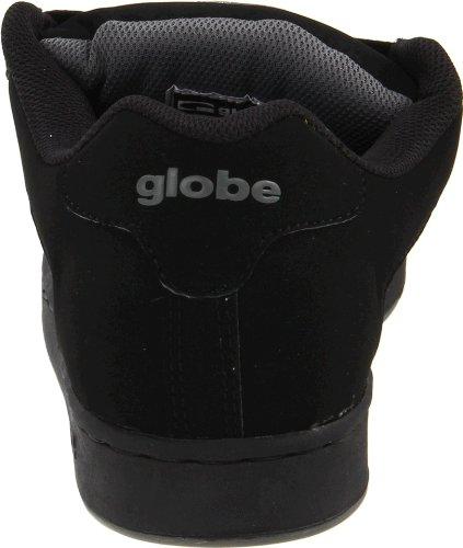 Globe Mens Focus Skate Schoen Zwart / Houtskool