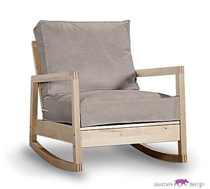 Sylt Taupe - Funda para sillón de IKEA LILLBERG sillón, sofá ...