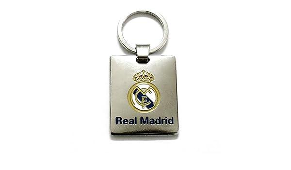 Llavero Real Madrid metálico Chapa Escudo esmaltado [AB3456 ...