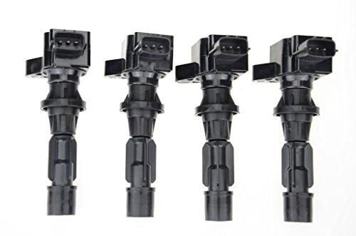 Mazda 6 Coil - Ignition Coil Pack for Mazda 3 6 CX7 MX-5 Miata I4 2.0L 2.3L 2.5L 4-PC Set