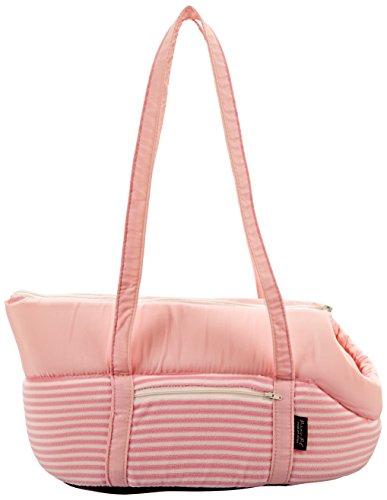 Cheap Parisian Pet Malibu Striped Carrier, Pink