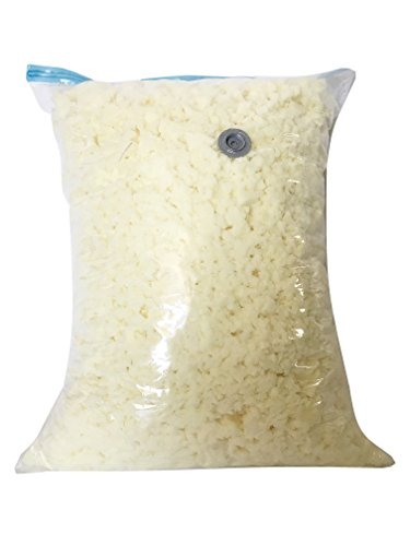Premium High Grade Shredded Poly Foam Fill Refill Replacement for Bean Bags, Chairs, Pet Beds, Pillows, Cushions, and Arts & Crafts Made in The USA (15 lbs)
