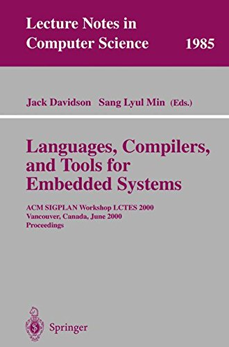 Languages, Compilers, and Tools for Embedded Systems: ACM SIGPLAN Workshop LCTES 2000, Vancouver, Canada, June 18, 2000,