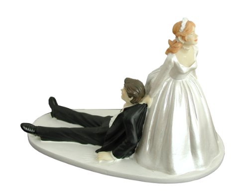 Bavendo Tortenaufsatz Fur Ihre Hochzeitstorte Lustiges Brautpaar