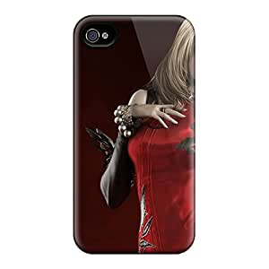 KFu5319VvtX Tpu Phone Case With Fashionable Look For Iphone 4/4s - Aion Beautiful Girl