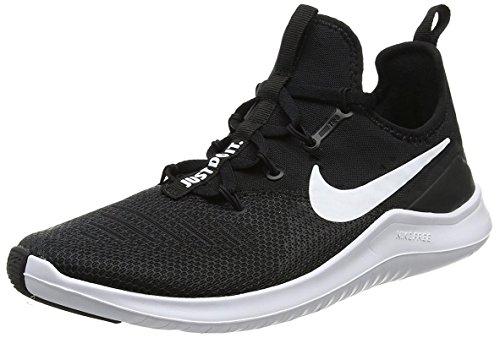 Nike Womens Free TR 8 Running Shoes Black/White 7 B(M) US (Nike Free Tennis Shoes Women)