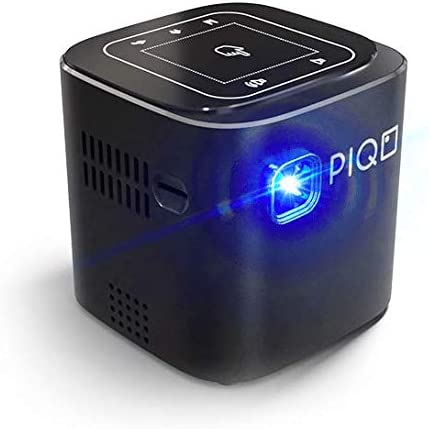 PIQO - Proyector DLP (200 lúmenes ANSI, Android 7, Altavoz Hi-Fi ...