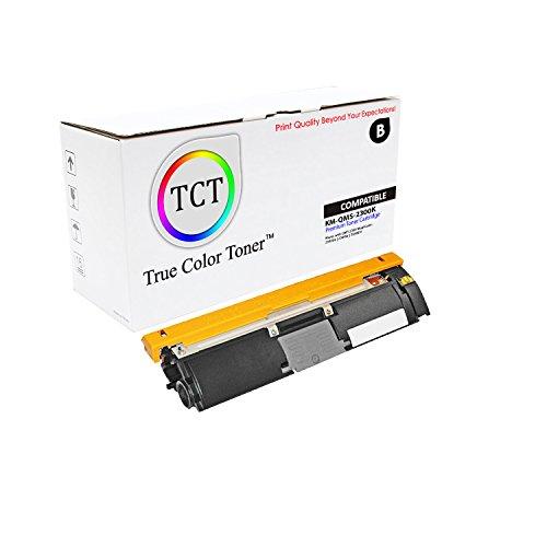 TCT Premium Compatible Toner Cartridge Replacement for QMS 2300 1710517-005 Black Works with Konica Minolta Magicolor 2300DL 2300W 2350EN Printers (4,500 Pages) ()