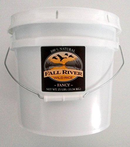 Fall River Wild Rice 25 Lb Bucket-Fancy