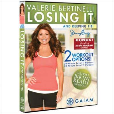 Gaiam Valerie Bertinelli  Losing It And Keeping Fit Dvd 05 54675