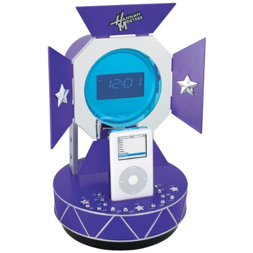 Disney Hannah Montana Alarm Clock Radio for iPod and MP3 (Hannah Montana Alarm Clock)