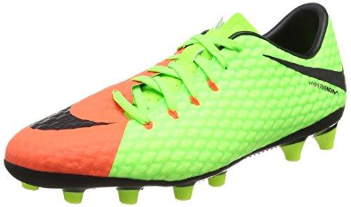 Nike Herren Hypervenom Phelon III AG-Pro Fußballschuhe Grün (Electric Green/black/hyper Orange/volt)