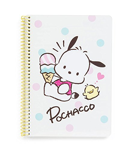 Pochacco Spiral Notebook: Ice Cream