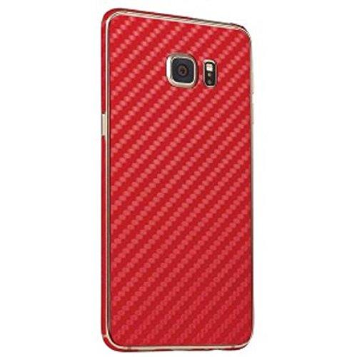 BodyGuardz Skin for Samsung Galaxy S6 Edge+ - Retail Packaging - Red ()