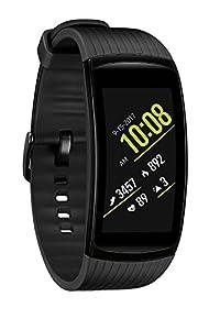 Samsung Gear Fit2 Pro Smart Fitness Watch (Large), Liquid Black - SM-R365NZKAXAR (Certified Refurbished)