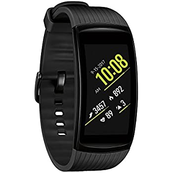 Samsung Gear Fit2 Pro Fitness Smartwatch (Small) - Black (Renewed)