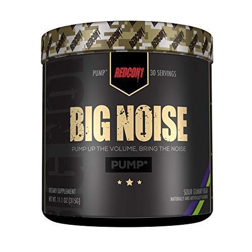 Redcon1 Big Noise, Sour Gummy Bear, 11.1 Ounce