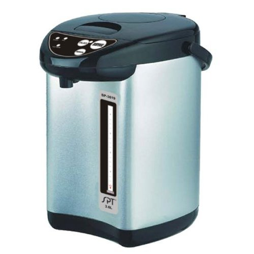 Sunpentown SP-3619 Stainless-Steel 3-3/5-Liter Dual-Pump Hot-Water Dispensing Pot by Sunpentown   B001POAT6A