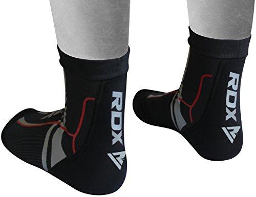 RDX Knöchelbandage Elastische Fußbandage Knöchelschutz Kickboxen Fußgelenkbandagen Knöchelschoner