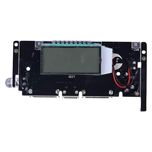 SovelyBoFan Dual UsB 5V 1A 2.1A MóVil Power Bank 18650 Cargador de BateríA Placa de MóDulo PCB