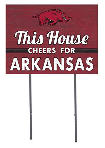 KH Sports Fan 18x24 Lawn Sign Arkansas