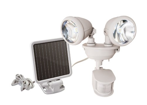 MAXSA Innovations Dual Head LED Security Spotlight