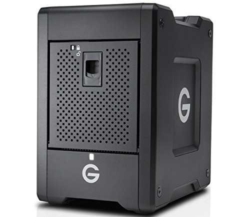 G-Technology 16TB G-SPEED Shuttle Thunderbolt 3 - Transportable, 4-Bay RAID Storage Solution - 0G10067