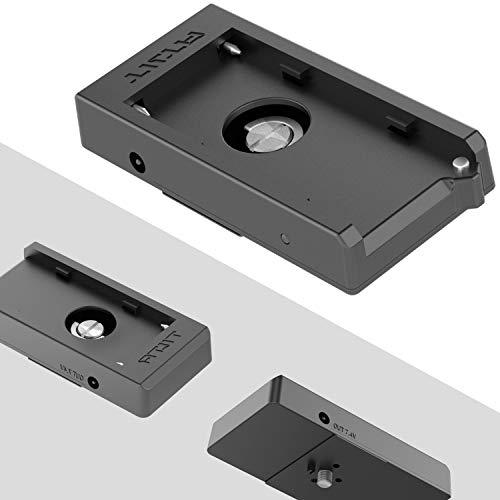 TILTA TA-BTP-F970 F970 Battery Plate for BMPCC 4K Cage Blackmagic Pocket Cinema Camera 4K Rig (F970 Battery Plate)