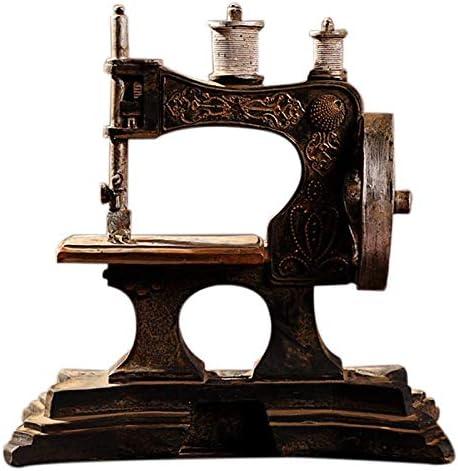 WOVELOT Ornamentos Modelo Máquina De Coser De Resina Restaurar Antiguas Maneras De Hacer Viejo Bar Decoración del Hogar Artesanía Regalo: Amazon.es: Juguetes y juegos