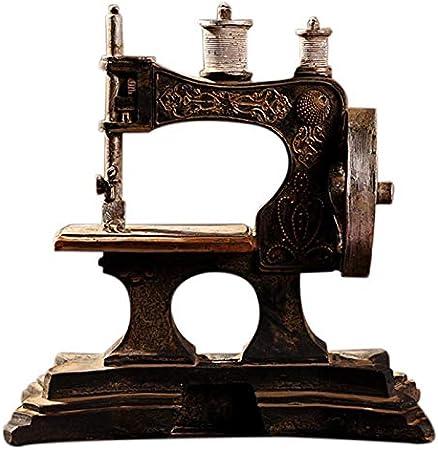REFURBISHHOUSE Ornamentos Modelo Máquina De Coser De Resina ...