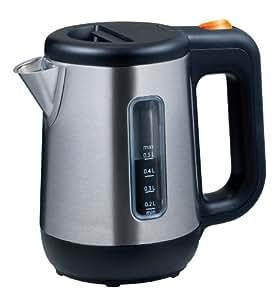 Kenwood JKM 076, Negro, Plata, 622 g, Acero inoxidable - Calentador de agua