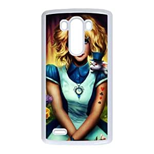 LG G3 phone cases White Alice cell phone cases Beautiful gifts YWLS0490725