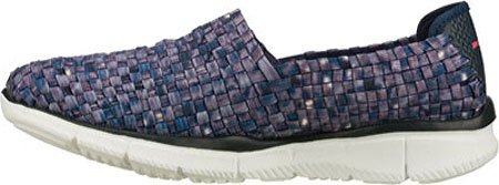 Skechers Equalizer Vivid Dream, Zapatos, Mujer Navy/White