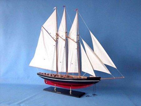 手作りの模型船大西洋50大西洋50インチ装飾セイルボート B00HS1686O