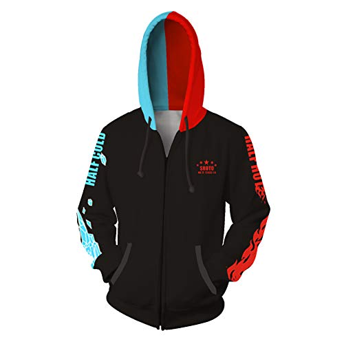 Qi Pao My Hero Deku Hoodie Training Suit Cosplay Sweatshirt Costume for Men and Women (S, Style ()