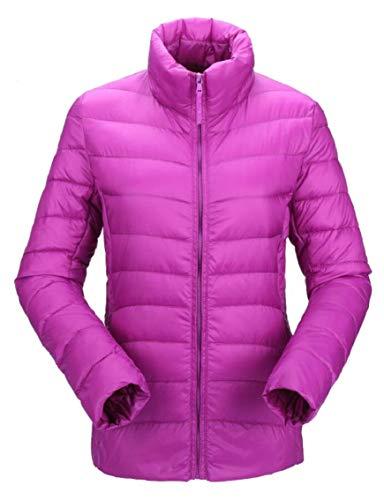 Down Outdoor Down Purple Gocgt Coats Puffer Women's Packable Jacket qRY1Y
