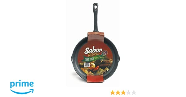 Amazon.com: Imusa Preseasoned Cast Iron Skillet, 10 Inch: Kitchen & Dining