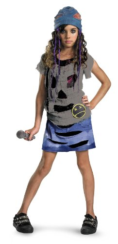 Grunge Spirit Girls Halloween Costume Size M (7-8) -