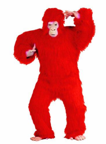 RG Costumes Men's Plus-Size Red Gorilla, -